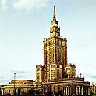 The Palace of Culture and Science.. Warsaw by oulgundog