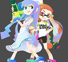 Splatoon X Squid Girl by ciccioDeeamci
