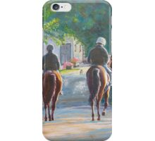 Riding out Kilcolgan Co Galway iPhone Case/Skin