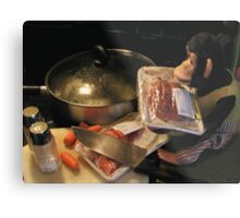 Delicious Brains Metal Print