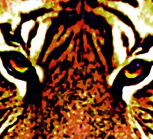 Eye of the Tiger 3 by Wingsdomain Art and Photography