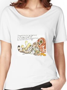 Owl and Pussycat Women's Relaxed Fit T-Shirt