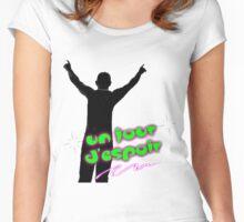Un Jour D'espoir Women's Fitted Scoop T-Shirt