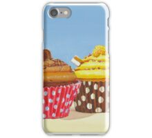 4 delicious cup cakes iPhone Case/Skin