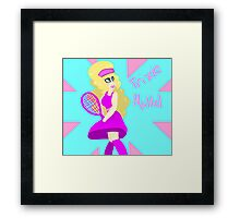 trixie mattel born naked Framed Print