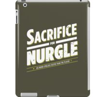 Sacrifice for Nurgle - Damaged iPad Case/Skin