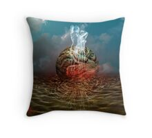 Oblivion´s Seed (Poem Attached) Throw Pillow