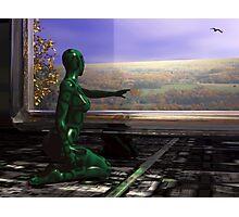Window to Autumn Photographic Print