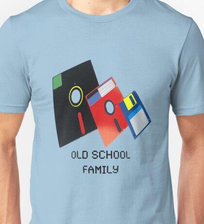 Old School Family (floppys) Unisex T-Shirt