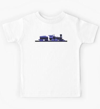 train blue Kids Tee