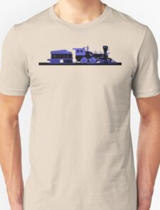 train blue Unisex T-Shirt