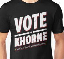 Vote for Khorne - Damaged Unisex T-Shirt