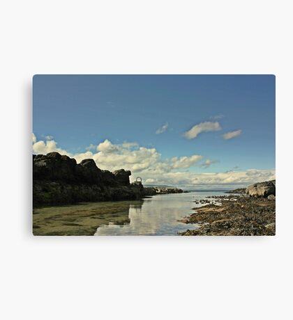 Portstwewart - A quiet Spot Canvas Print