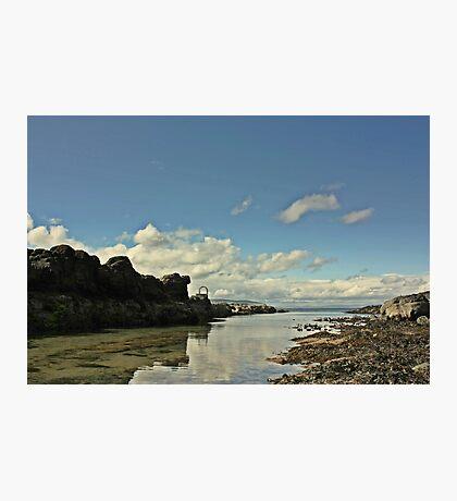 Portstwewart - A quiet Spot Photographic Print