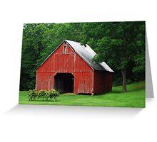 Starry Barn Greeting Card