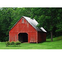 Starry Barn Photographic Print