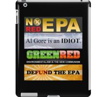 Defund The EPA iPad Case/Skin