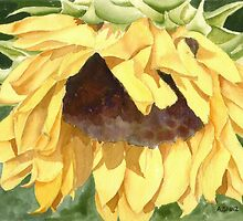 Sunflower by Anne Sainz