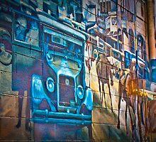 Trompe l'Oeil 1 by Peter Maeck
