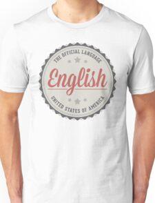 The Official Language Unisex T-Shirt