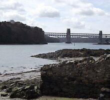 Britannia Bridge by Becccaa