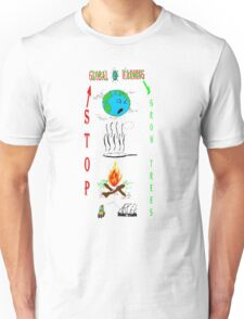 Save Earth Prevent Global Warming Unisex T-Shirt