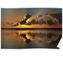 Tugggerah Lakes.30-9-2010.NSW.AUSTRALIA. Poster