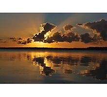 Tugggerah Lakes.30-9-2010.NSW.AUSTRALIA. Photographic Print