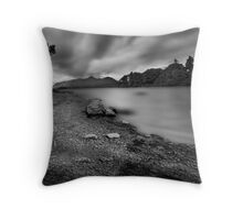 Moody Derwentwater Throw Pillow
