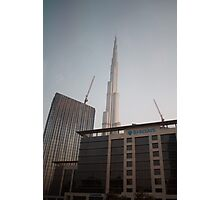 Dubai Construction Photographic Print