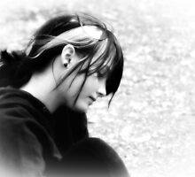 contemplation by Di Dowsett