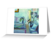 Comfortable at Home Greeting Card