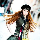 Red hair style  by Etienne RUGGERI Artwork eRAW