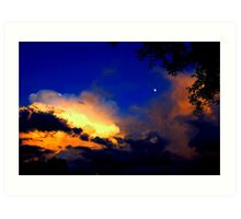 The Most Beautiful Floridian Storm  Art Print