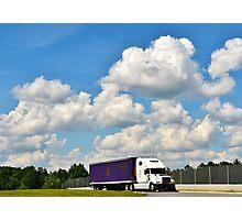 At the Truck Stop Photographic Print