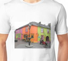 Bright coloured Kinsale Street - County Cork Ireland Unisex T-Shirt