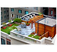 Garden On The Roof  Poster