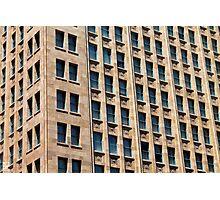 Big Brick Plaza Photographic Print