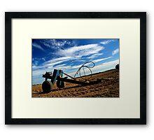tractor factor  Framed Print