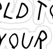 World Tour Sticker