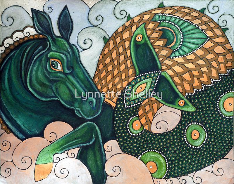 Hippocamp II by Lynnette Shelley