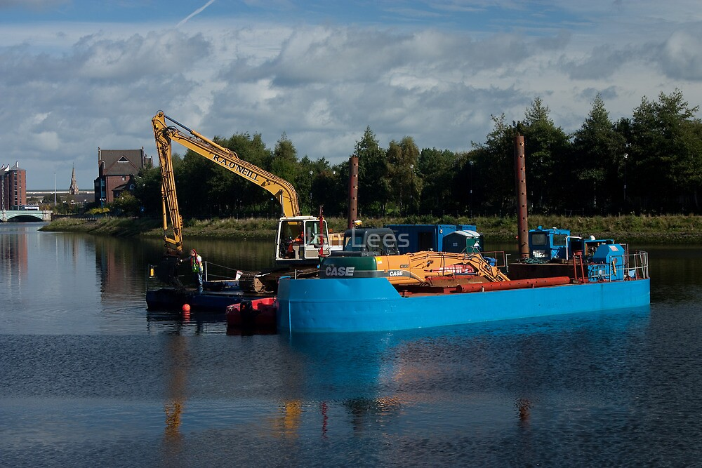 Dredging the River Lagan by Jon Lees