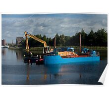 Dredging the River Lagan Poster