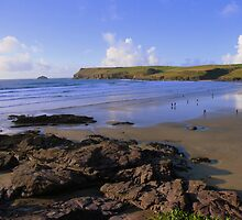 Cornwall: Polzeath Beach by Rob Parsons