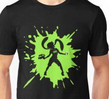Splat Girl - Green Unisex T-Shirt