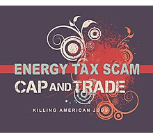 Energy Tax Scam Photographic Print