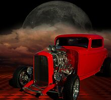 1932 Ford Coupe Hot Rod by TeeMack
