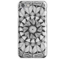 Zendala - Zentangle®-Inspired Art - ZIA 30 iPhone Case/Skin