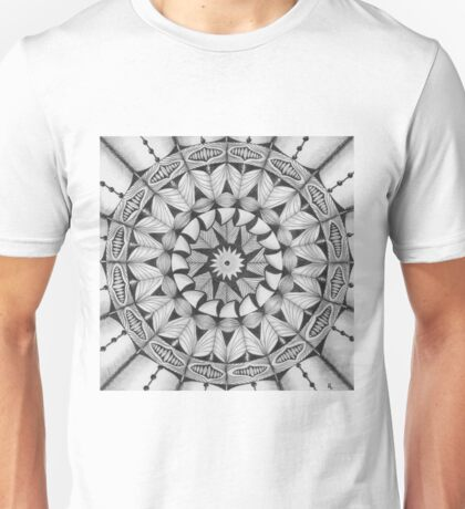 Zendala - Zentangle®-Inspired Art - ZIA 30 Unisex T-Shirt