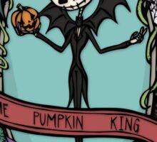 Pumpkin King Sticker